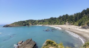 The Hidden Beach In Northern California With Clear Waters That Rival The Caribbean