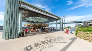The Waterfront Carousel In New York That Has The Most Magical View