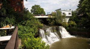 This Charming Ohio Restaurant Is Steps Away From A Little-Known Waterfall