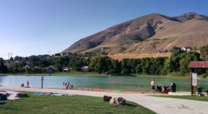 The Beach At This Little Family Park In Utah Is The Perfect Place To Spend A Sunny Day
