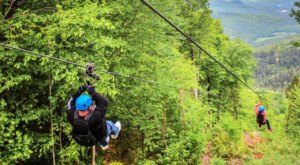 This Zipline In Maine Will Whisk You Away On An Unforgettable Adventure