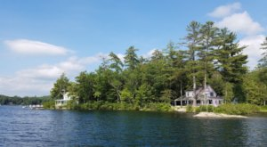 Get Away From It All At This Crystal Clear Lake In New Hampshire