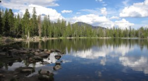 Visiting This One Mountain Lake In Utah Is Like Experiencing A Dream