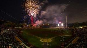 Enjoy Fireworks All Summer Long At This Family Friendly Ballpark In Utah