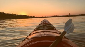 Take A Sunset Kayak Tour To See Maine In A Whole Different Light