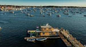 Spend The Night On The Water In This Wonderfully Cool Houseboat In Rhode Island