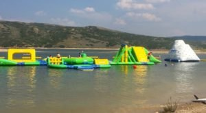 This Giant Inflatable Water Park In Utah Proves There's Still A Kid In All Of Us