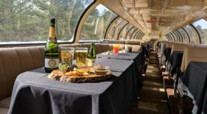 This Brunch Train Ride Takes You Through An Enchanting Texas Forest