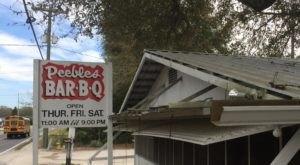 An Award-Winning BBQ Shack In Florida, Peebles Has Been Serving Serious Eats Since 1947