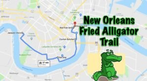 Here's The Mouthwatering Fried Alligator Trail In New Orleans That You Didn't Know You Needed