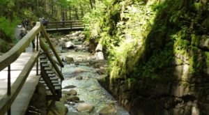 The Hike To This New Hampshire Waterfall Is Short And Sweet