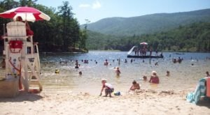 This One Beautiful Virginia Lake Has A Beach That Rivals The Coast