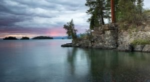 Most People Don't Know This Lake In Montana Has Its Very Own Monster