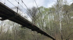 You'll Cross A Daring Footbridge On This Scenic Hike In North Carolina