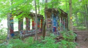 Most People Don't Know About These Strange Ruins Hiding In Connecticut
