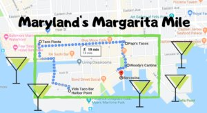 Drink Your Way Through Maryland On The Margarita Mile