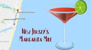 Drink Your Way Through New Jersey On The Margarita Mile