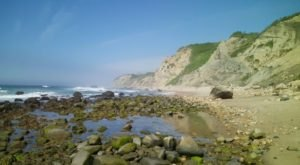 Rhode Island's Rockiest Beach Is Full To The Brim With Rugged Beauty