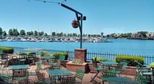 You'll Never Want To Leave This Enchanting Waterfront Restaurant In Buffalo