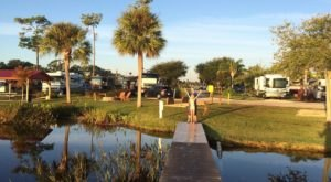 This Might Just Be The Happiest Campground In All Of Florida