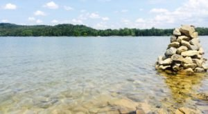 Get Away From It All At This Crystal Clear Lake In West Virginia