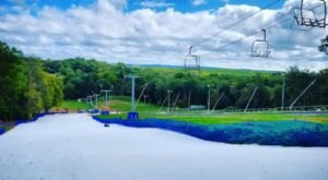 Take A Thrilling Ride Down The Mountain At Connecticut's Only Summer Tubing Park