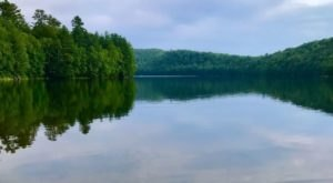 This Exhilarating Hike Takes You To The Most Crystal Blue Lake In Vermont