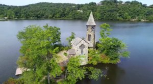 The Tiny Chapel Situated On An Island In New Jersey Is Sure To Captivate You