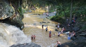 Maryland's Most Refreshing Hike Will Lead You Straight To A Beautiful Swimming Hole