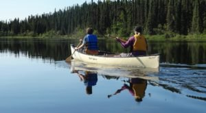Most People Don't Know You Can Canoe Through A Wildlife Refuge Right Here In Alaska