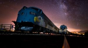 This Magical Moonlight Train Ride Takes You Through A Remote Arizona Canyon