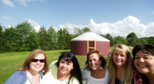 The Lovely Arkansas Winery Where You Can Sleep In A Yurt