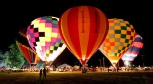This Magical Hot Air Balloon Glow In Missouri Will Light Up Your Summer