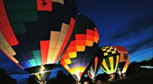 This Magical Hot Air Balloon Glow Near Pittsburgh Will Light Up Your Summer