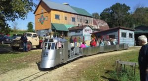 You'll Fall In Love With This Toy Train Barn Hiding In Wisconsin