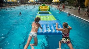 This Giant Inflatable Water Park In South Dakota Proves There's Still A Kid In All Of Us