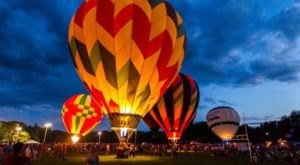 This Magical Hot Air Balloon Glow In Connecticut Will Light Up Your Summer