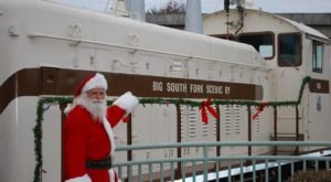 Hop Aboard This Christmas In July Train Ride In Kentucky For A Unique Summer Outing