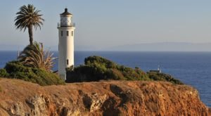 The Cliffside Lighthouse In Southern California Is The Most Majestic Sight To See