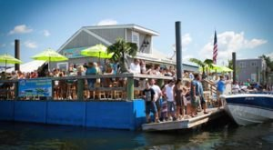 A Trip To This Floating Tiki Bar In Massachusetts Is The Ultimate Way To Spend A Summer's Day
