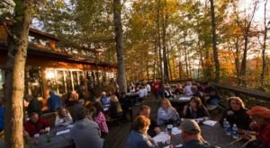 Dine In The Tree Canopy At This West Virginia Steakhouse