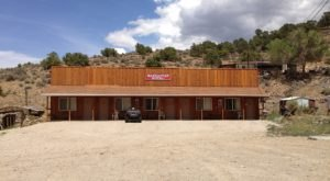 Staying In This Ghost Town Motel May Just Be The Creepiest Thing You Can Do In Nevada