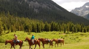 The Guided Horseback Day Trip In Montana That Will Take Your Summer To The Next Level
