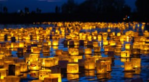 The Water Lantern Festival In South Carolina That's A Night Of Pure Magic
