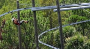 The Only Zip Line Roller Coaster In The Country Can Be Found Right Here In Florida
