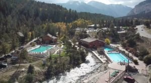 You'll Never Forget Your Trip To This Incredible Hot Springs Resort In Colorado