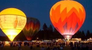 This Magical Hot Air Balloon Glow In Oregon Will Light Up Your Summer