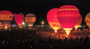 This Magical Hot Air Balloon Glow In North Carolina Will Light Up Your Night