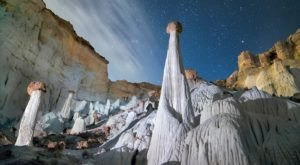 Utah's White Ghosts Are The Most Incredible Natural Wonders You've Ever Seen