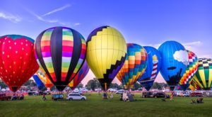 This Magical Hot Air Balloon Glow Near Cleveland Will Light Up Your Summer